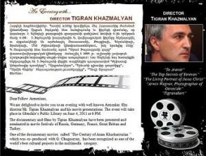 Tigran Khzmalian Glandel